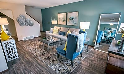 Living Room, Westchester Townhomes Rental Homes, 1