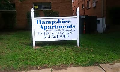 The Hampshire Apartments, 1
