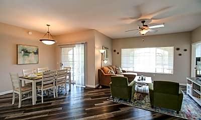 Living Room, 1500 E Pusch Wilderness Dr 6201, 0