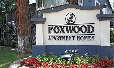 Community Signage, Foxwood Apartment Homes, 2