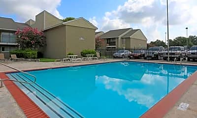 Pool, Winding Trails Apartments, 1