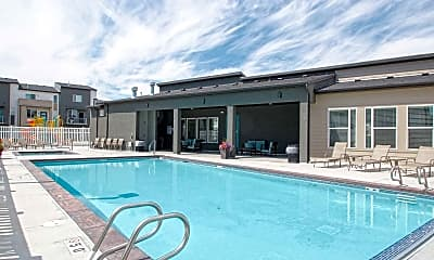Pool, Solameer Townhomes, 1