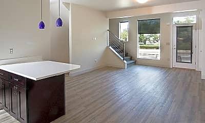 Living Room, Blue Koi, 0