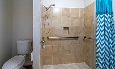 Bathroom, Room for Rent -  a 3 min walk to M L King Blvd @ S, 2