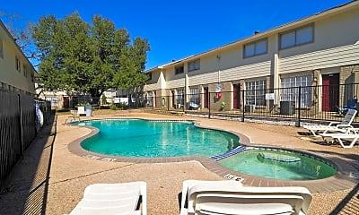 Pool, Vineyard at Sam Houston, 0