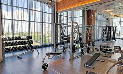 Fitness Weight Room, 4010 S Ocean Dr R2306, 1