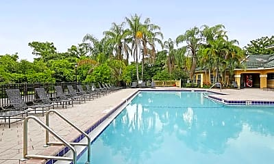 Pool, Windward Lakes Apartments, 0