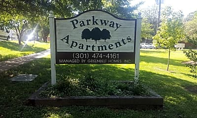 Parkway Apartments, 1