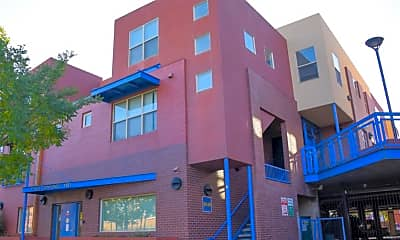 Building, Plaza Townhomes, 1