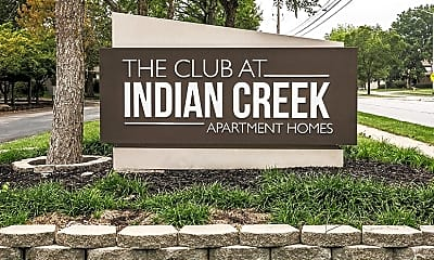 Community Signage, The Club At Indian Creek, 2