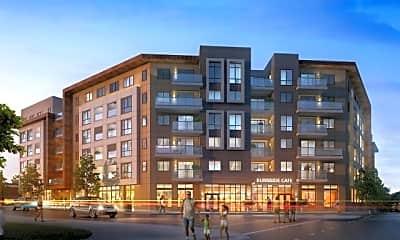 Building, Linden Apartments, 1