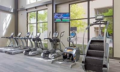 Fitness Weight Room, 76107 Properties, 1