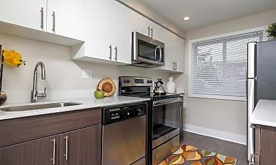 Kitchen, North Lane Apartments, 0