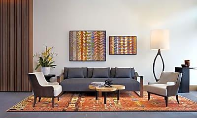 Living Room, 777 C St SE P-404, 1