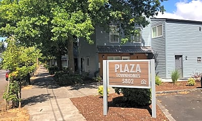 Plaza Townhomes, 1