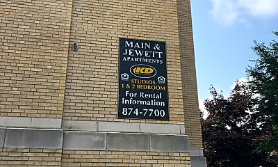 Main Jewett Apartments, 1