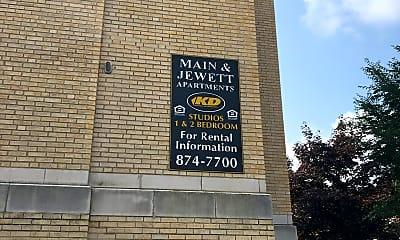 Main Jewett Apartments, 1