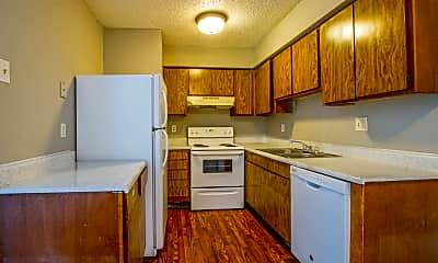 Kitchen, Aero Apartments, 2