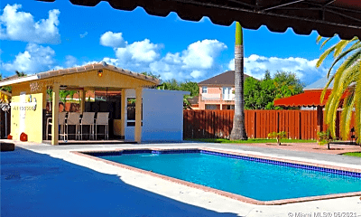 Pool, 12743 SW 207th Terrace, 1