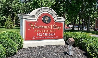 Community Signage, Naamans Village Apartments, 0