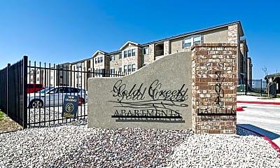 Community Signage, Gold Creek Apartments, 1