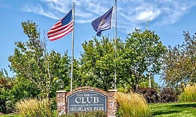 Community Signage, Club At Highland Park, 0