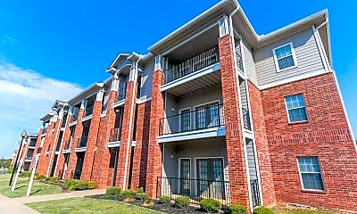 Building, Foothills Apartments, 1