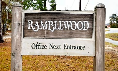 Community Signage, Ramblewood, 2