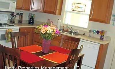 Kitchen, Ross Park 3/3 Duplex, 1