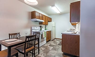 Dining Room, Richfield Apartments, 1