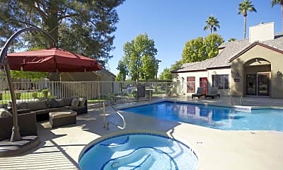 Pool, Coral Point Apartments, 1