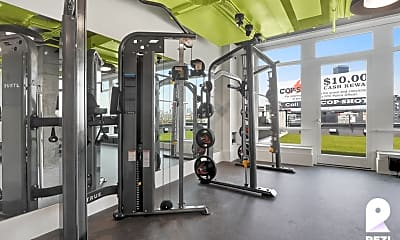 Fitness Weight Room, 36-20 Steinway St #203, 2
