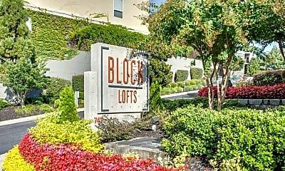 Community Signage, Block Lofts, 0