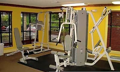 Fitness Weight Room, 4201 W McNab Rd, 2
