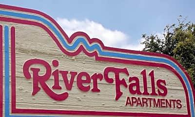 Community Signage, River Falls, 2
