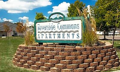 Community Signage, Riverside Common Apartments, 2