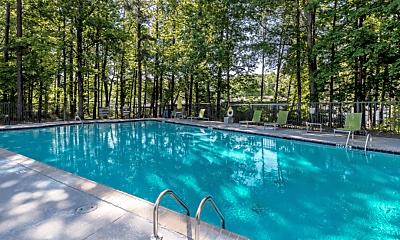 Pool, Gardens at Camp Creek, 2