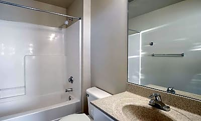 Bathroom, Jazz District and Highland Place Apartments, 2