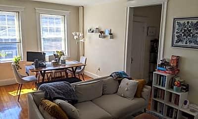 Living Room, 852 Massachusetts Ave, 1