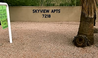 Skyview Apts, 1