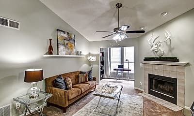 Living Room, Harbor Pointe, 0