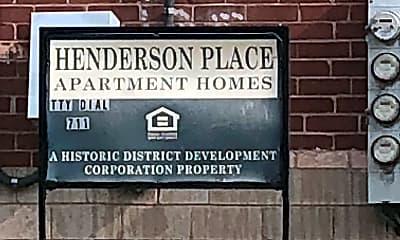 Henderson Place Apartments, 1