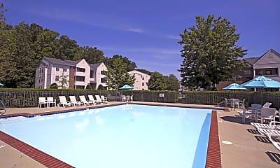Pool, Derby Run Apartments, 0