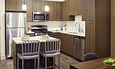 Kitchen, Mave Apartments, 1