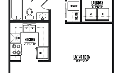 Patio / Deck, 527 E Main St, 2
