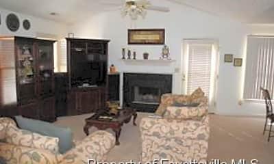 Living Room, 5916 Unaka Ct, 1