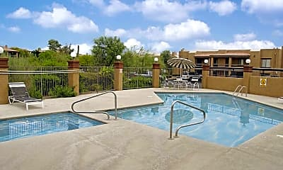 Pool, Westcourt Village, 1