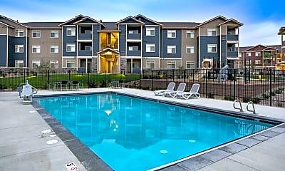 Pool, Copper Stone Apartments, 0