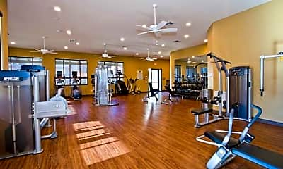 Fitness Weight Room, Vintage At The Lakes, 2