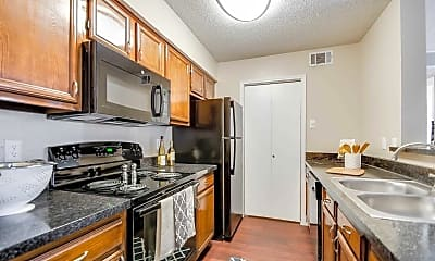 Kitchen, Preston Bend Apartments, 0